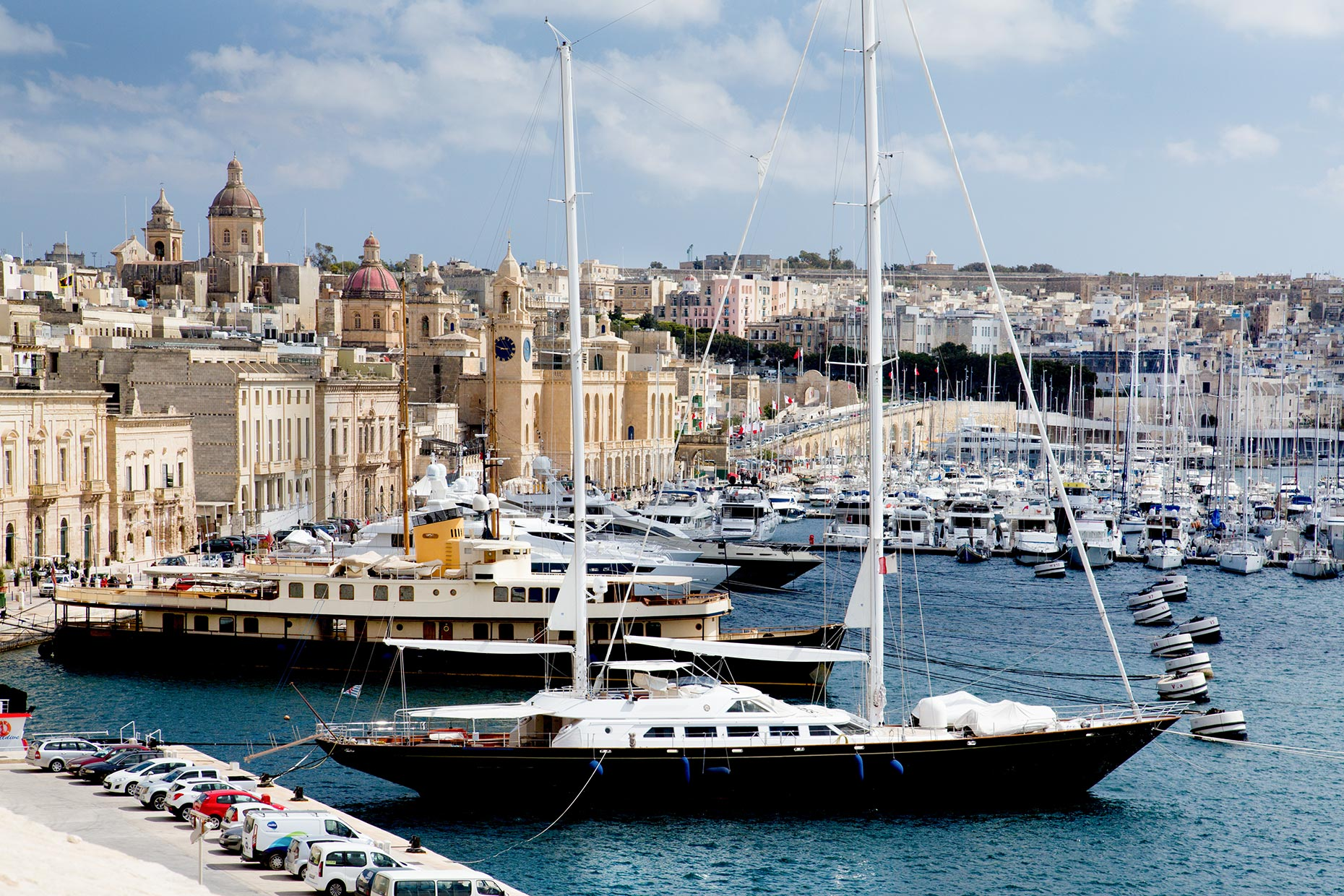 Grand-Harbor-Valetta-Malta-Yachting-Caryn-B-Davis