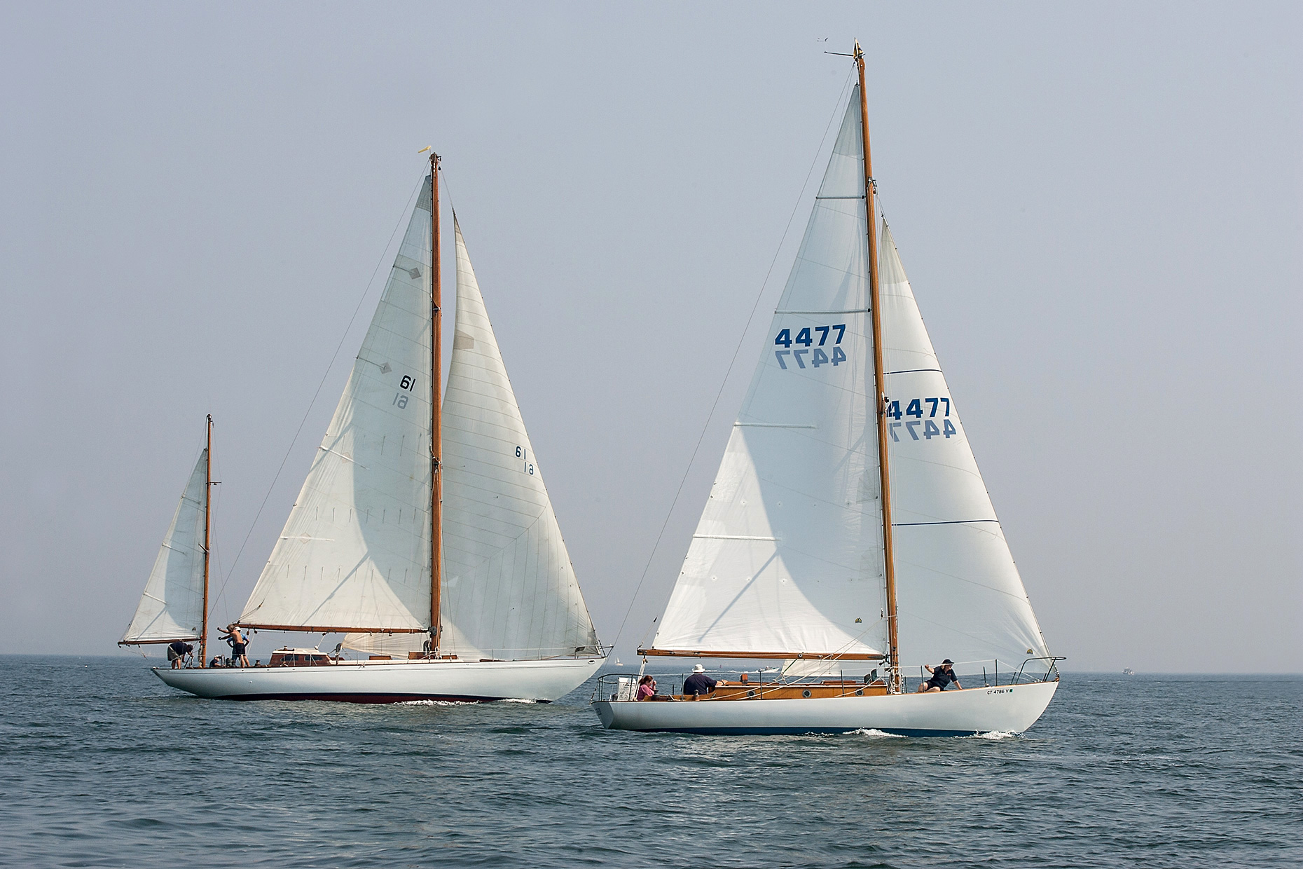 Morgan-Point-Invitational-Boat-Race-Fishers-Island Sound-Noank-Cresta II-Mischief