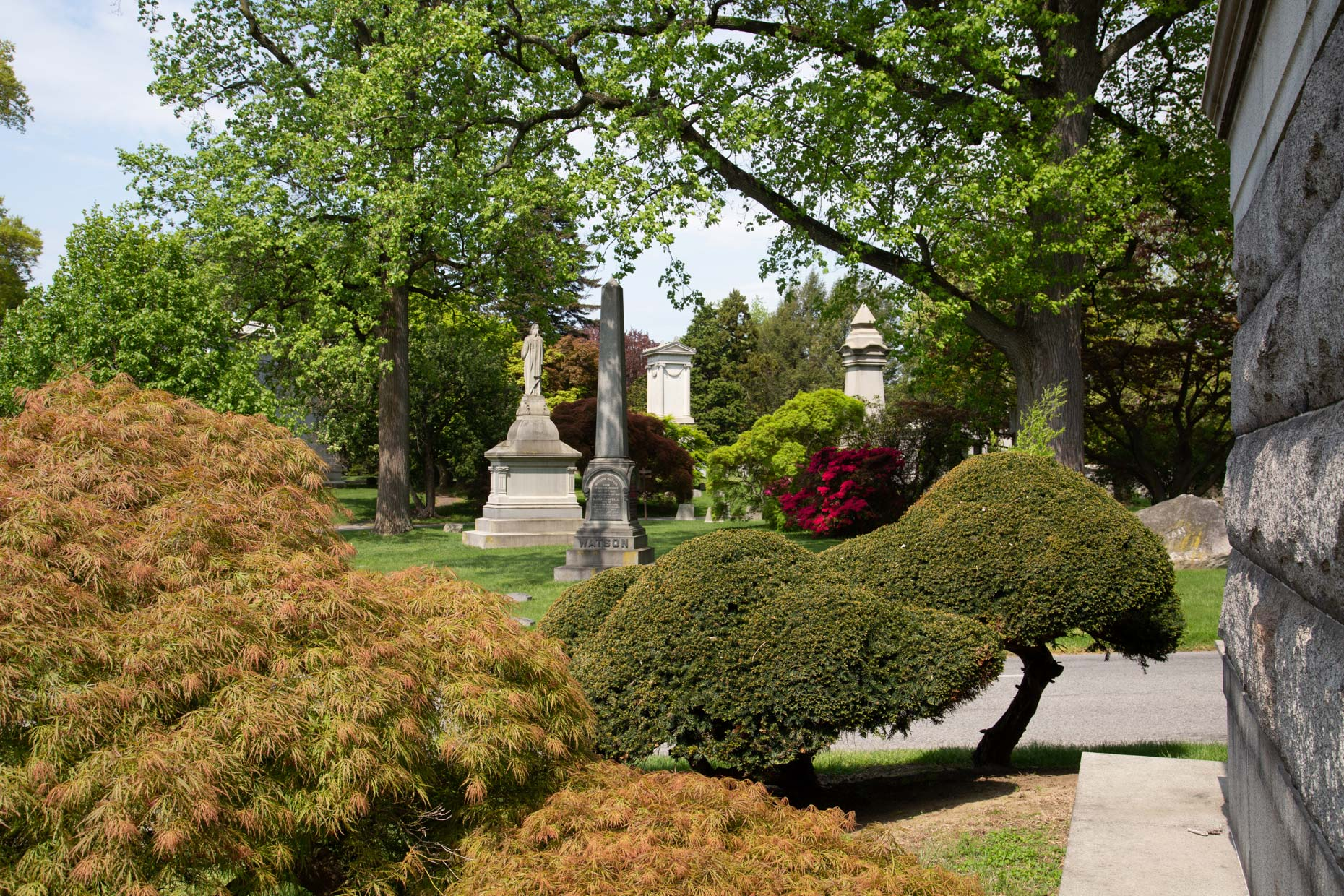 Woodlawn-Cemetery -Landscape-Architecture-Photography-Caryn-B-Davis