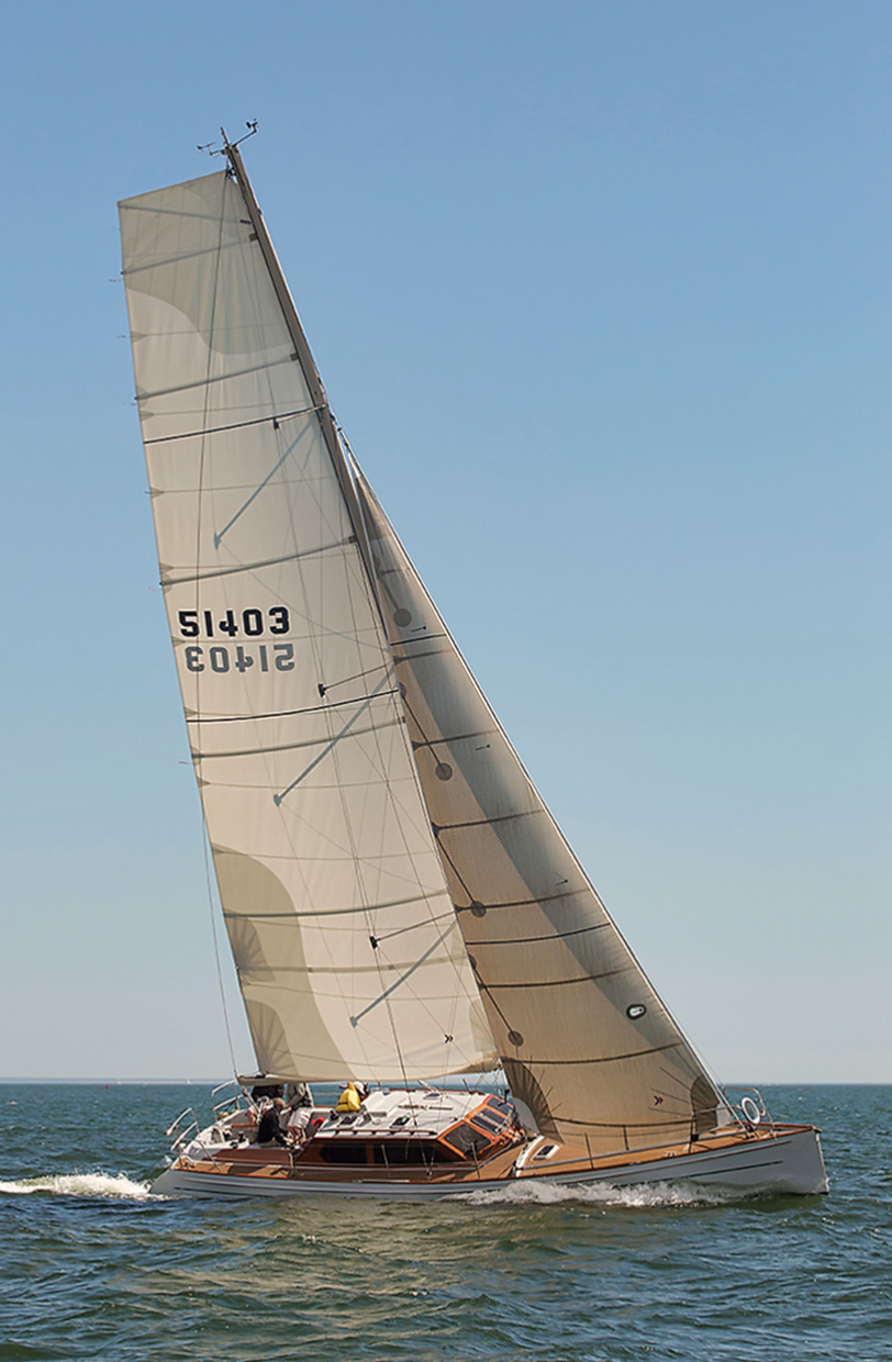 Sailboat-Fishers-Island-Sound-Caryn-B-Davis