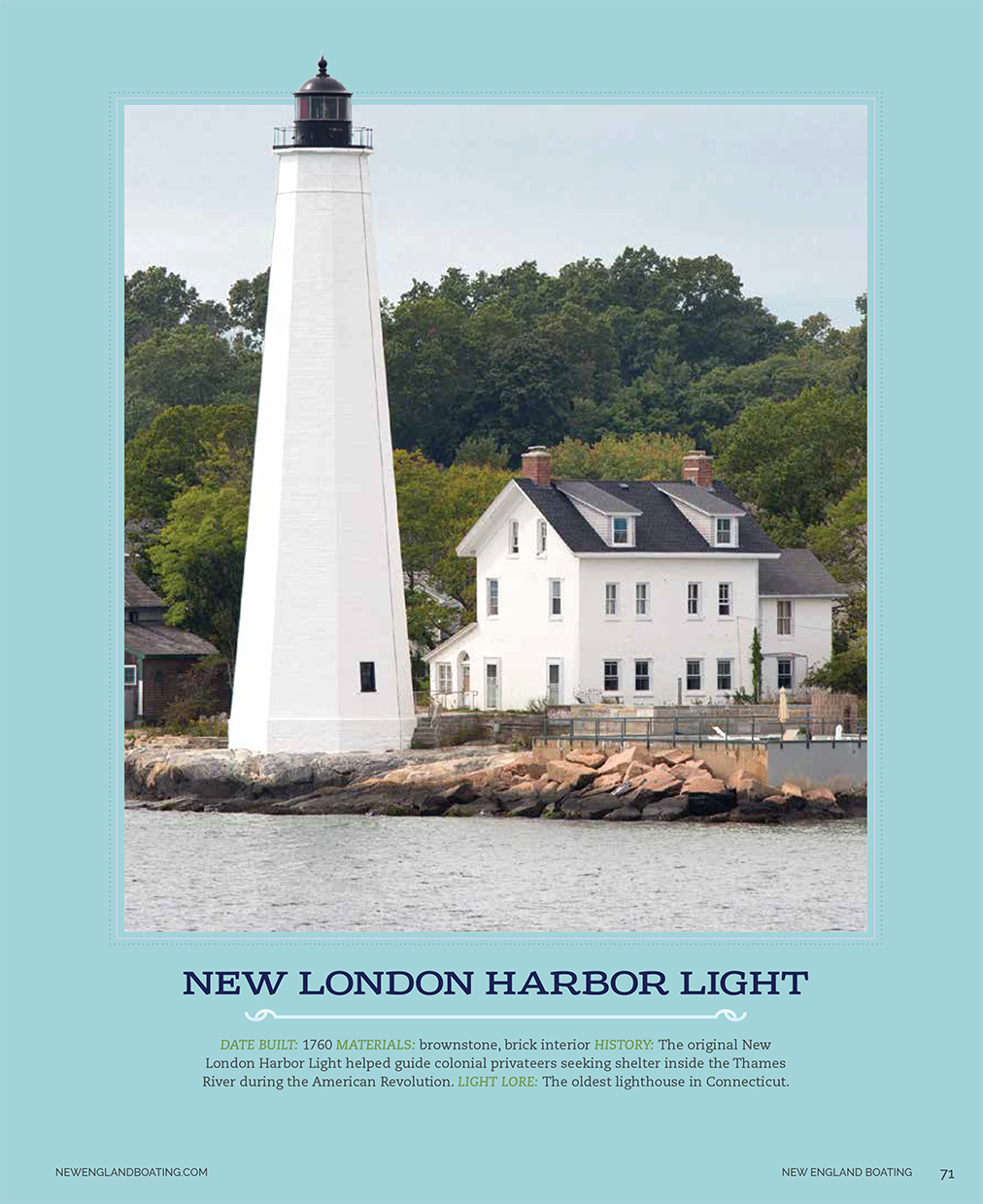 New-London-Harbor-Light-New-England-Boating-Caryn-B-Davis