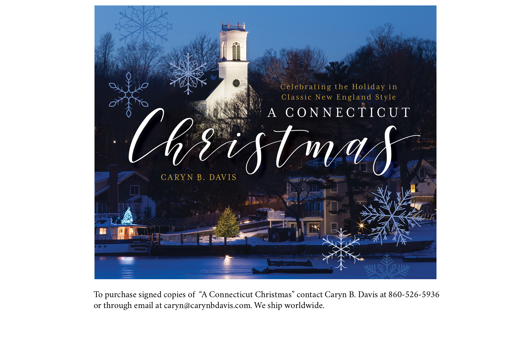 To Purchase A Connecticut Christmas Caryn B Davis